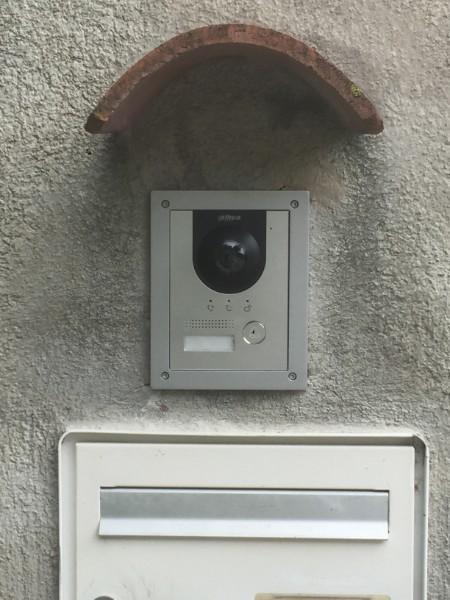 Installation réseau visiophonie