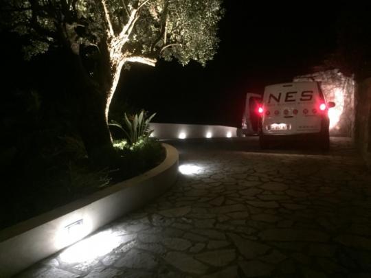photo de la camionnette d'entreprise d\